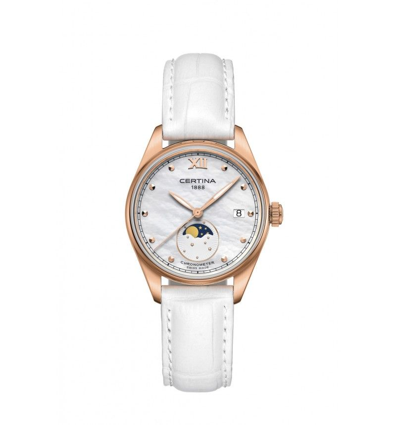 CERTINA DS-8 LADY MOON PHASE C033.257.36.118.00