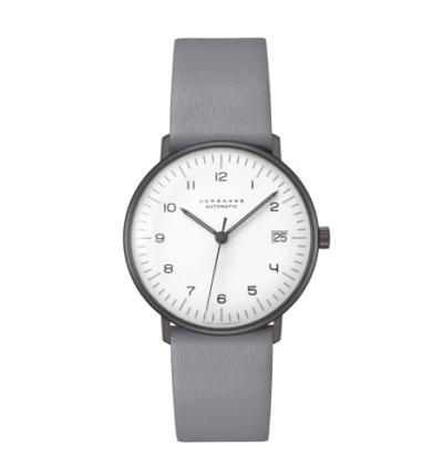 JUNGHANS MAX BILL LADIES AUTOMATIC BLACK AND WHITE SPECIAL EDITION 027/4006.04