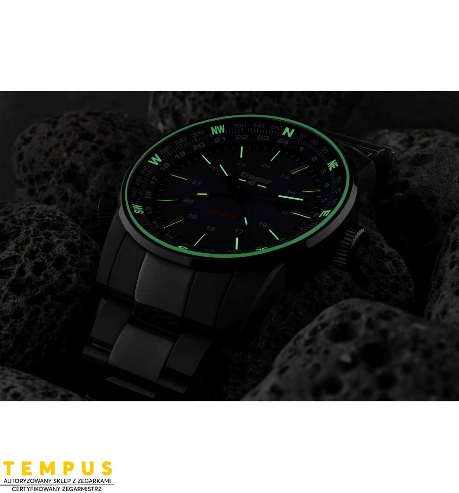 Zegarek Męski Traser P68 Pathfinder GMT Blue 109524 - Tempus