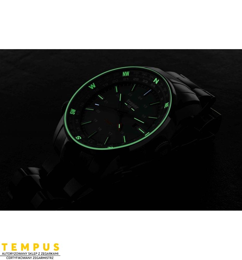 Zegarek Męski Traser P68 Pathfinder GMT Green 109525 - Tempus