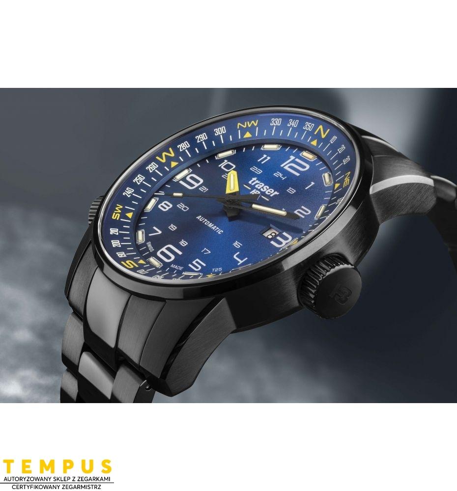 Zegarek Męski Traser P68 Pathfinder Automatic Blue 109523 - Tempus