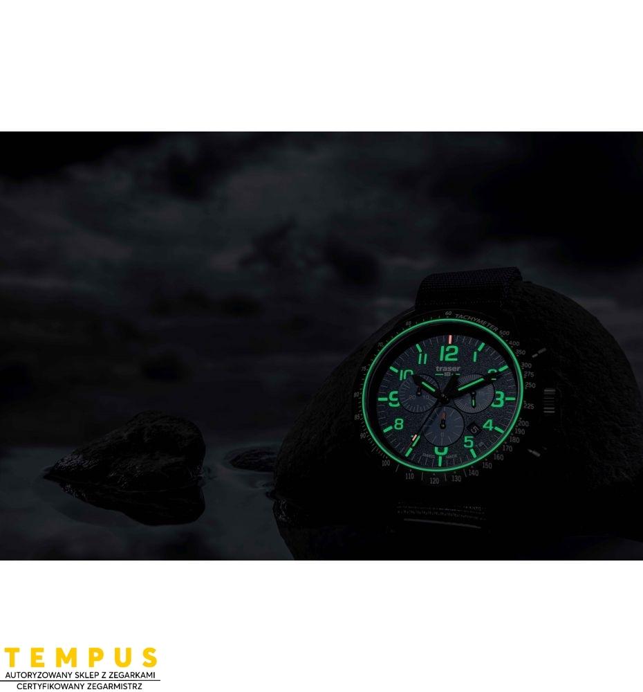 Zegarek Męski Traser P67 Officer Pro Chronograph Blue 109461 - Tempus