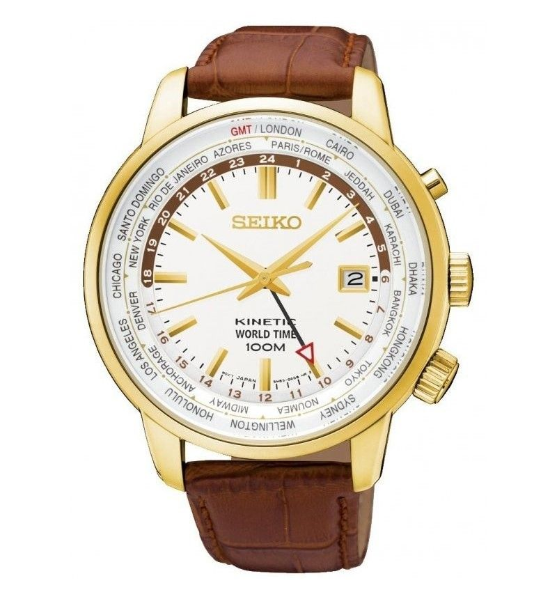 SEIKO Kinetic World Time...