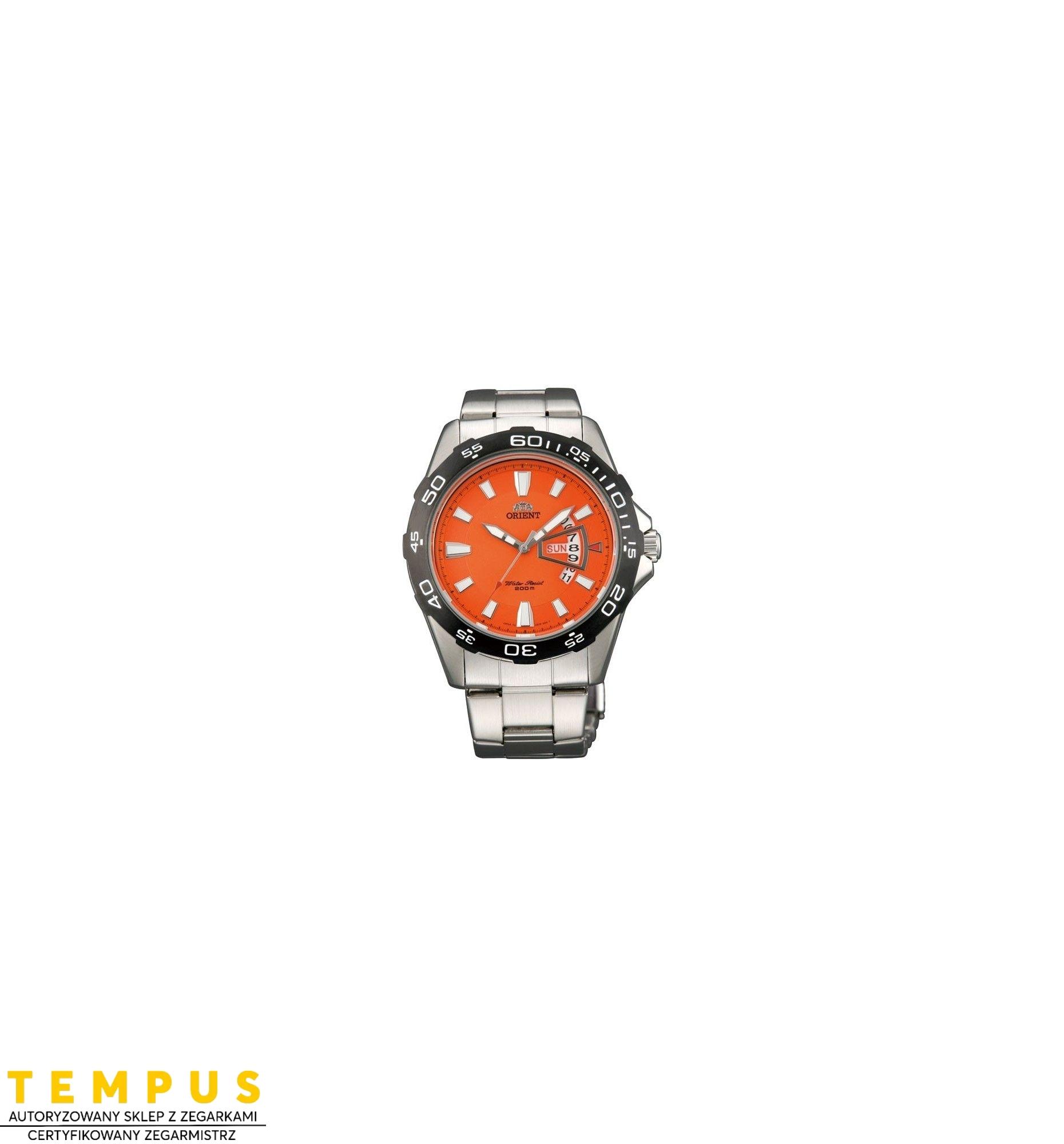 Zegarek Męski ORIENT FUG1S002M6 - Tempus