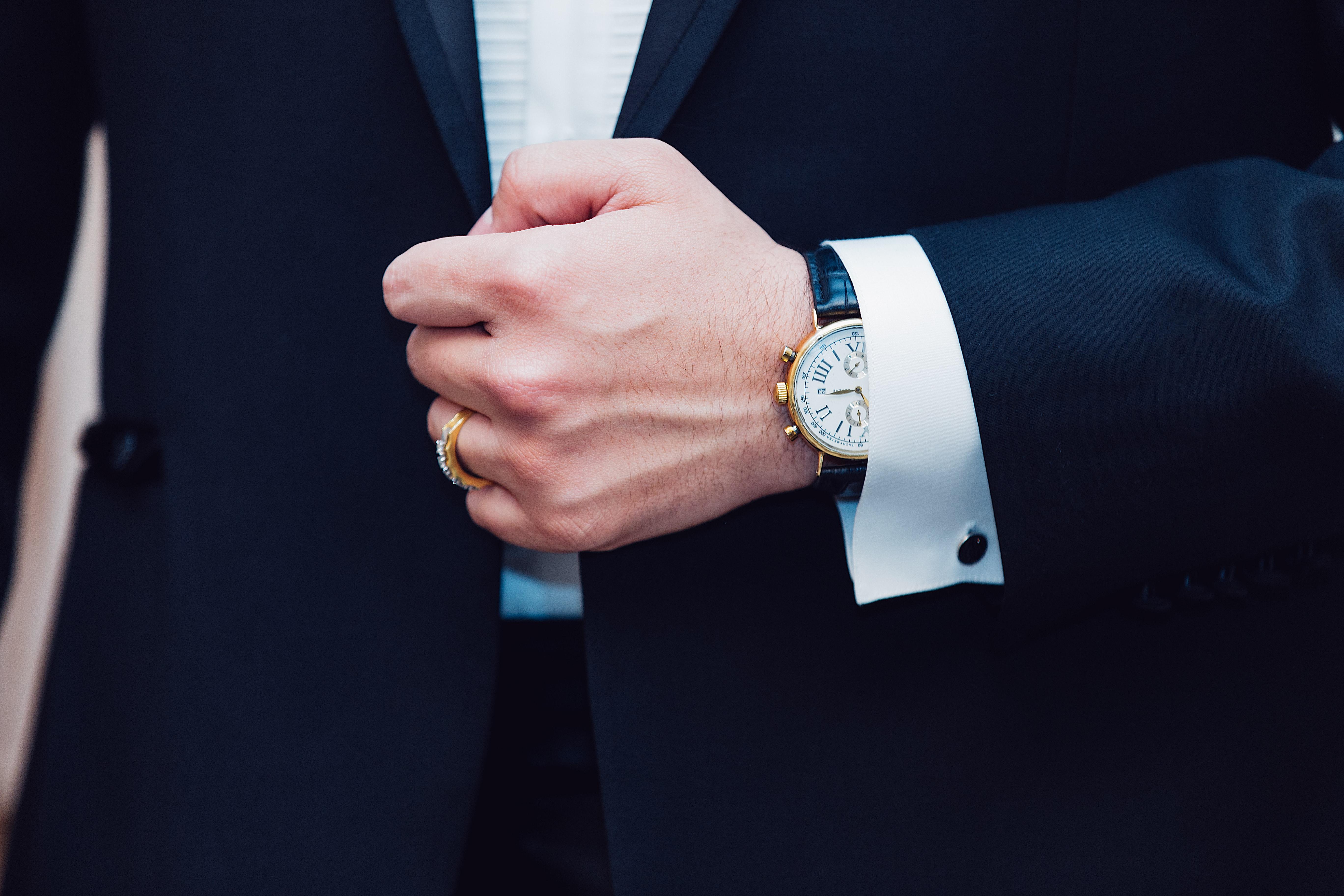 zegarek do garnituru
